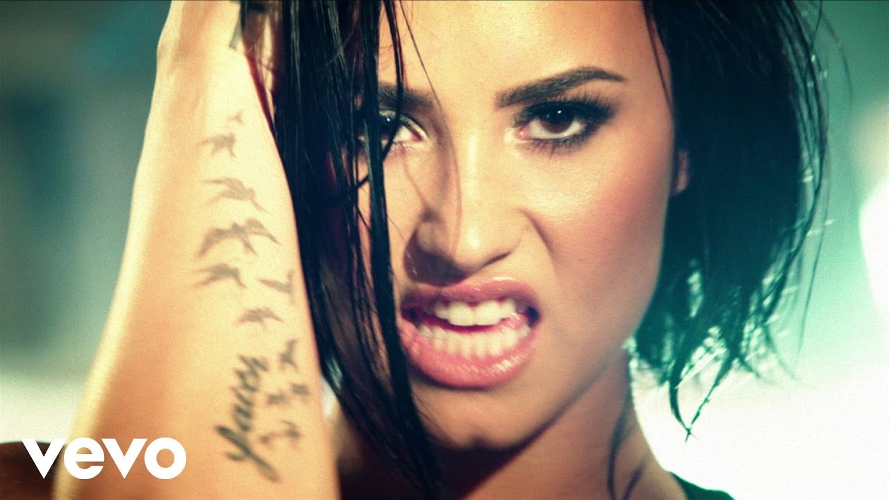 Demi Lovato Confident Official Video Youtube