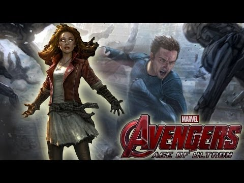 Avengers 2 First Look: Quicksilver, Scarlet Witch & More!