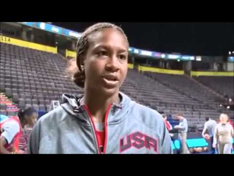 AFRICAN SPORTS TV OLYMPIC SAMPLE COVERAGE - USA WOMENS BASKETBALL NEWS