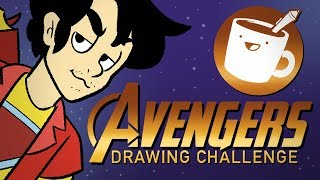 Artists Draw Marvel's Avengers (That They've Never Seen)