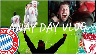 BAYERN MUNICH 1-3 LIVERPOOL CHAMPIONS LEAGUE AWAY DAY VLOG