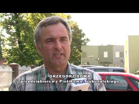 Grzegorz Sowa Protestował Przeciwko ZUSowi W Częstochowie