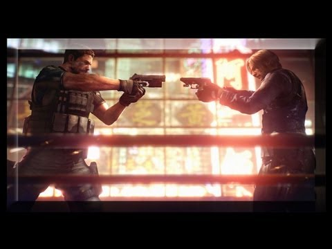 Resident Evil 6 Chris Walkthrough - All The Best Cutscenes Chris Redfield in Resident Evil 6 [HD]