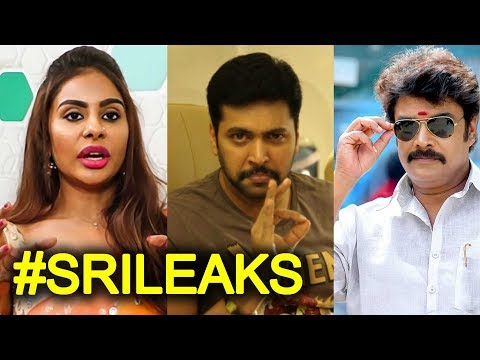 Sri Reddy's Tamil Leaks | Casting Couch | Sundar C wanted sexual compromise | SriLeaks
