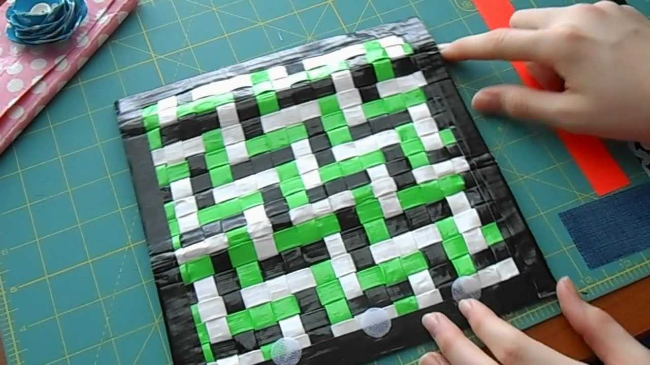 4 different duct tape womans wallet designs youtube
