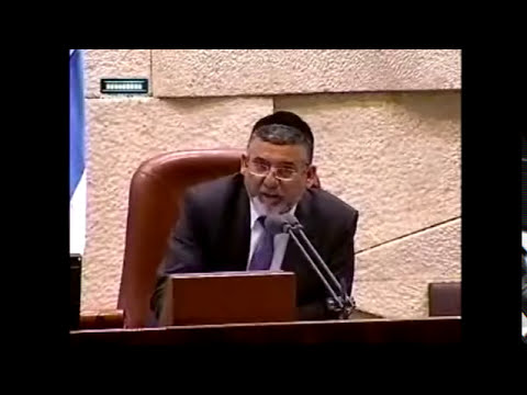 MK Ruth Calderon is angry about bittul torah in the Knesset