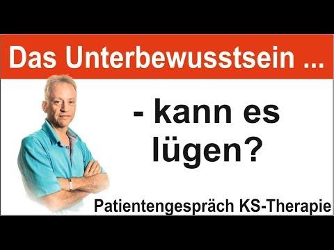 Psychosomatik Expertenwissen: Kann das Unterbewusstsein lügen? (KS Therapie)