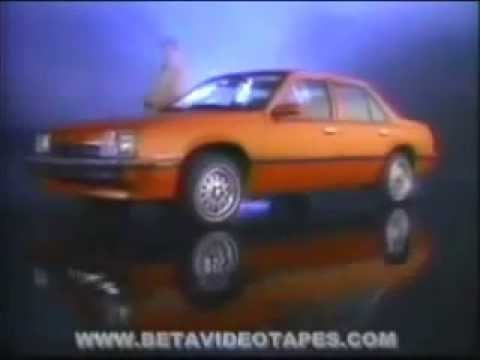 1982 Chevy Cavalier Commercial   Year End Clearence