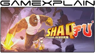 13 Minutes of Shaq Fu: A Legend Reborn DIRECT FEED Gameplay (Nintendo Switch - PAX East)