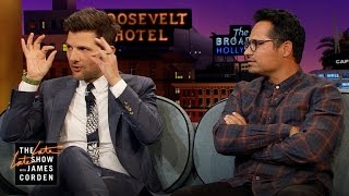 Michael Peña & Adam Scott Wanted to Be Eddie Murphy & Spike Lee