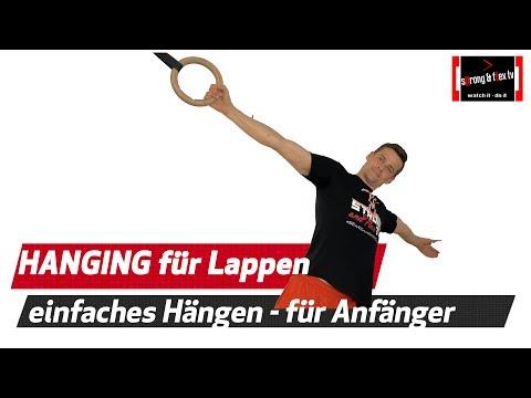 Schulterschmerzen ? Heilung durch Hanging - Variante für absolute Anfänger