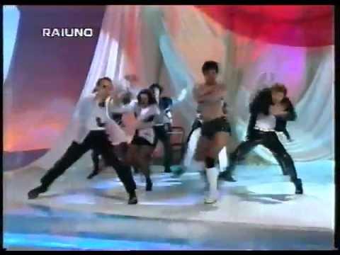 Fantastica Italiana 1995: Matilde Brandi, Lorenza Mario, Lorella Cuccarini balletto