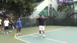 HLV Trương Quang Vũ hướng dẫn Chỉnh sửa động tác Tennis Phần 4