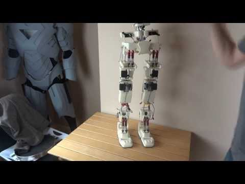 XRobots - Android 12 Part 6 - Thigh Assembly and complete lower half, life sized humanoid android