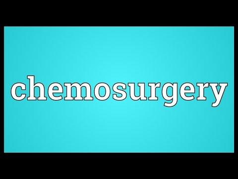 Header of chemosurgery