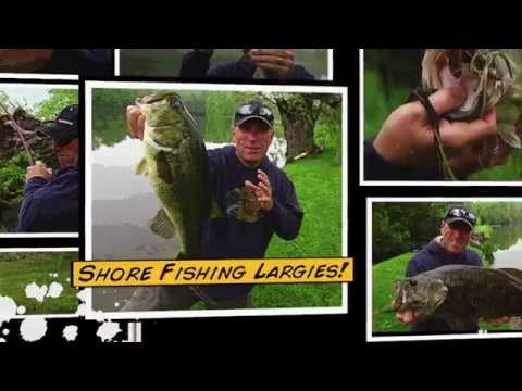 Shore Fishing Super Sized Largemouth Bass - Dave Mercer's Facts of Fishing 2014 Full Episode 5