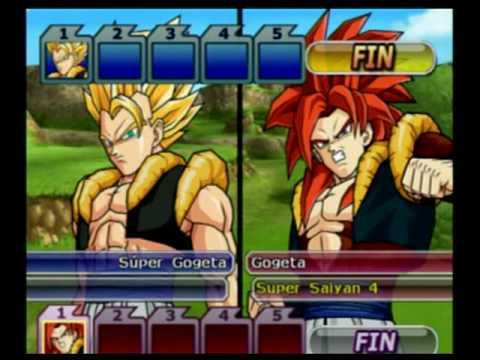 Dragon Ball Z Budokai Tenkaichi 3,  Logan DG,  Gogeta vs Gogeta 4  DBBT3