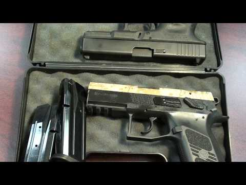CZ 75 P-07 DUTY - Compared to Glock 19 (1/3)