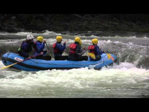 Rafting and Sports center Trollaktiv Evje Norway (video by ben&hanny)