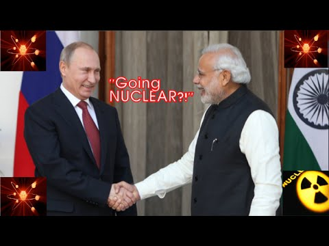 Going NUCLEAR: Russia & India agree to build 12 power reactors by 2035