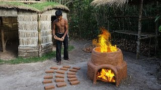 Primitive Technology: Building Kiln and Mud Bricks