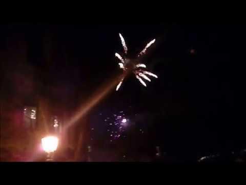 Tűzijáték Veszprémben 2018