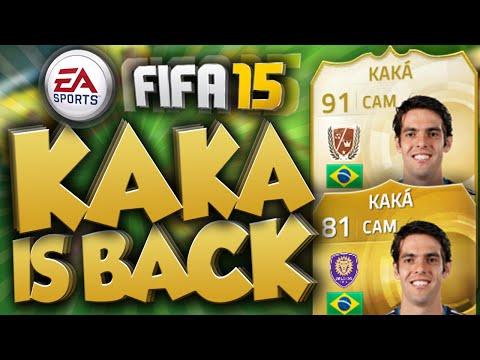 FIFA 15 - KAKA RETURNS TO FUT! LEGEND KAKA?!? (FIFA 15 ULTIMATE TEAM)