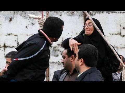 Iran Mother Stops Execution Of Son's Killer video