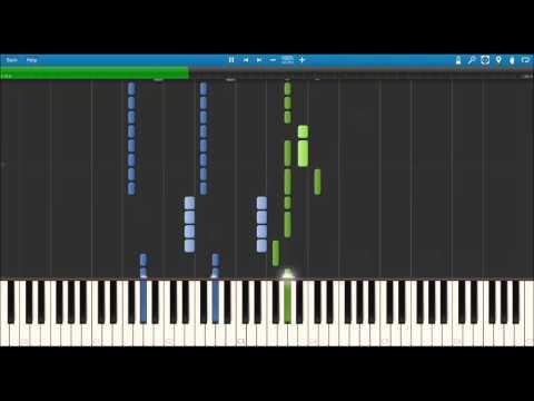 Naruto Shippuden Ending 36 - Sonna Kimi, Konna Boku [Piano Synthesia] [Sheet DL] ピアノ