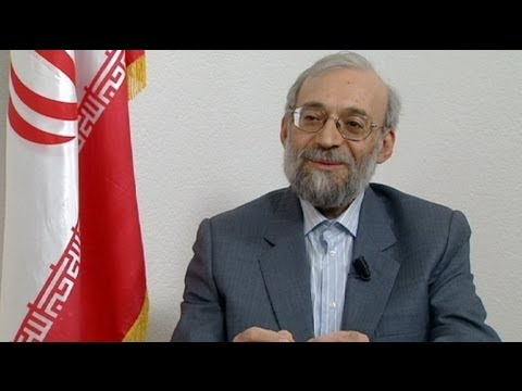 euronews interview - Larijani on Iran's new democracy