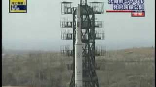 North Korea Missile launch on 04-05,2009