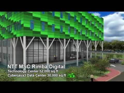 NTT MSC Cyberjaya3 Data Center Rimba Digital