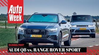 Audi Q8 vs Range Rover Sport - AutoWeek Dubbeltest - English subtitles