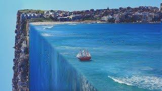 3D Ocean Effect   Photoshop Tutorial ( Perspective Bending)