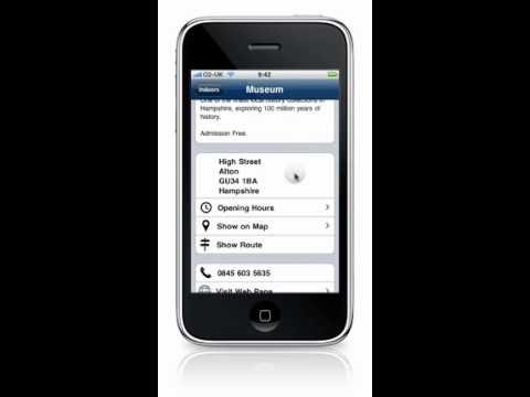 Hampshire iPhone App