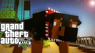 """HUNTING"" Minecraft GTA 5 | Grand Theft Auto 5 Mod Ep 24! (GTA 5)"