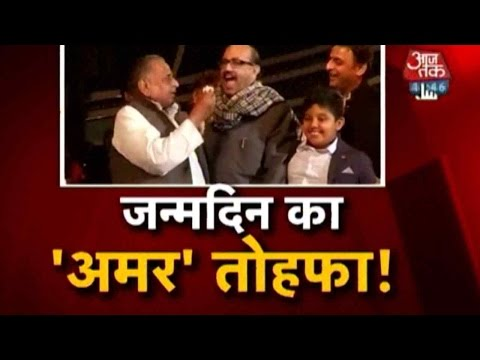 Mulayam Singh Yadav's Grand Birthday Bash