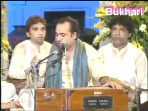 Rahat Fateh Ali Sing Ghalibs Ghazal Koi Ummeed bar Nahi Aati...
