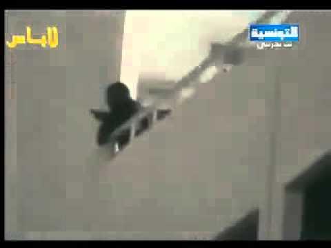 image vid�o فيديو لأحد القناصة يوم 13 جانفي
