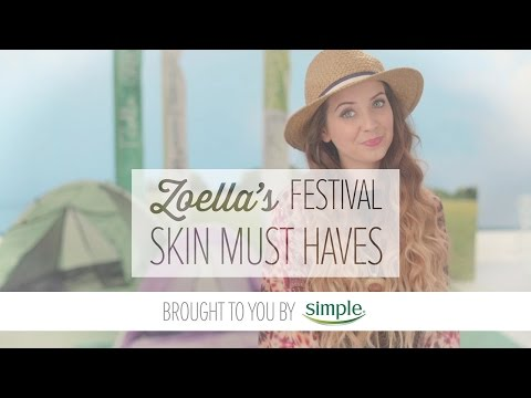 Zoella's Festival Skin Must-Haves