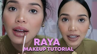 SIMPLE RAYA MAKEUP TUTORIAL