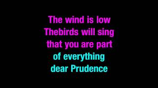 Dear Prudence The Beatles Karaoke You Sing The Hits
