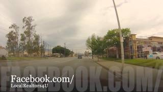 Driving Through The City Of Fontana California (All Green Lights) Presented by LocalRealtors4U