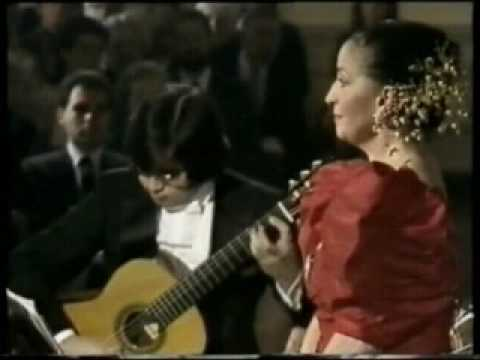 Teresa Berganza - Gabriel Estarellas - Seguidilla murciana