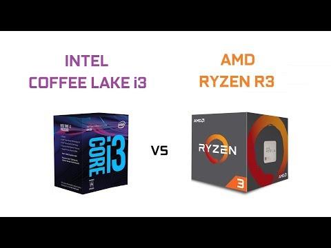 INTEL COFFEE LAKE i3 vs AMD RYZEN R3