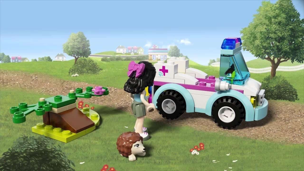 Ветеринарная скорая помощь (Lego 41086)