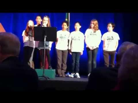 Heartwarming Speech by Child Activist at Jay Inslee/Al Gore Event