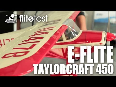 Flite Test - E-Flite Taylorcraft 450 - REVIEW