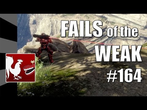 Fails of the Weak - Volume 164 - Halo 4 (Funny Halo Bloopers and Screw-Ups!)