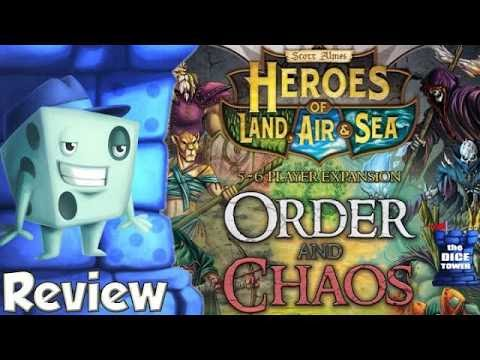 Heroes of Land, Air, & Sea: Order and Chaos Review - with Tom Vasel